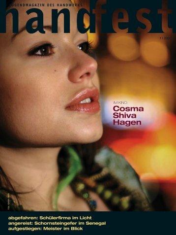 Cosma Shiva Hagen - Handfest-Online