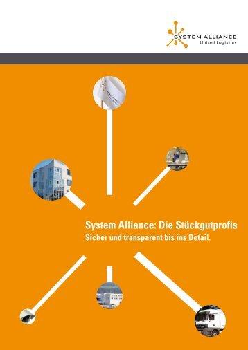 Imagebroschüre herunterladen - System Alliance