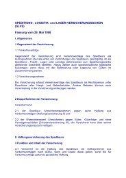 SLVS Spedition Logistik Lager - Dokumentation - frachtportal.net