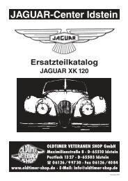 Ersatzteilkatalog JAGUAR XK 120 - Oldtimer Veteranen Shop