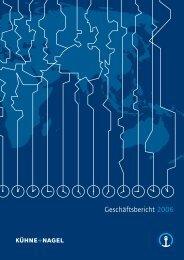 Geschäftsbericht 2006 - Kuehne + Nagel