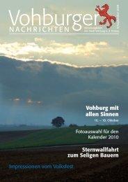 September 2009 - Stadt Vohburg