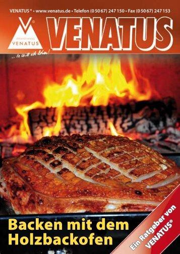 Backen mit dem Holzbackofen Backen mit dem ... - Venatus