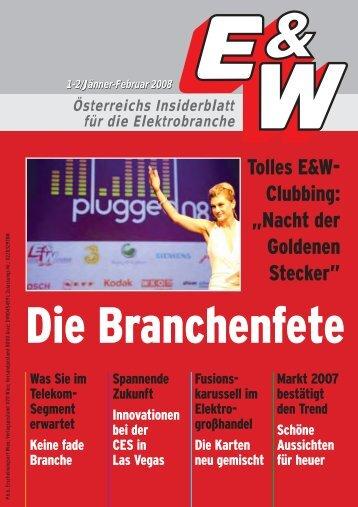 """Tolles E&W- Clubbing: """"Nacht der Goldenen Stecker"""""""