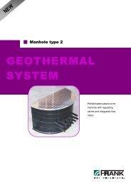 GEOTHERMAL SYSTEM - Frank GmbH