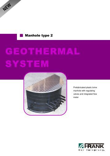 GEOTHERMAL SYSTEM - Frank GmbH