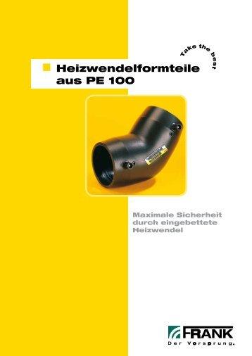 Prospekt Heizwendelformteile - Frank GmbH