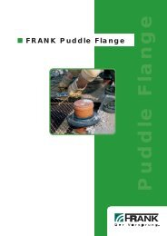 Puddle Flange - Frank GmbH