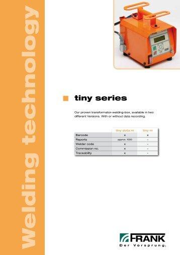 Tiny (PDF) - Frank GmbH