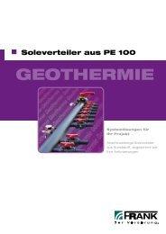 Flyer Soleverteiler aus PE 100 (PDF) - Frank GmbH
