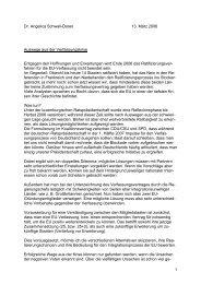 1 Dr. Angelica Schwall-Düren 13. März 2006 Auswege aus der ...