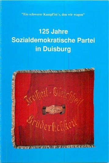 125 Jahre SPD Duisburg