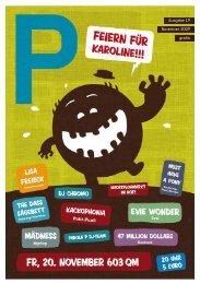 Ausgabe 15 Juni 2009 gratis Ausgabe 19 Novemver ... - P-Magazin