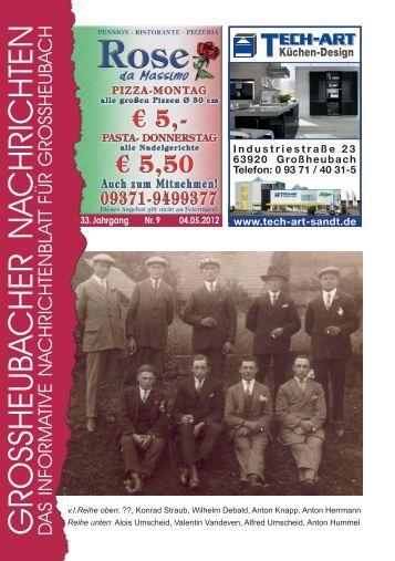 Großheubacher Nachrichten Ausgabe 09-2012 - STOPTEG Print ...
