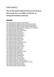 Dokument in SD Office _Öffentliche Niederschrift - Alsfeld