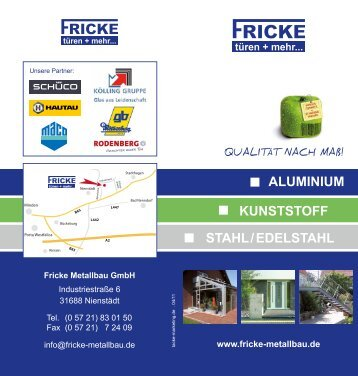 Download PDF - Fricke Metallbau