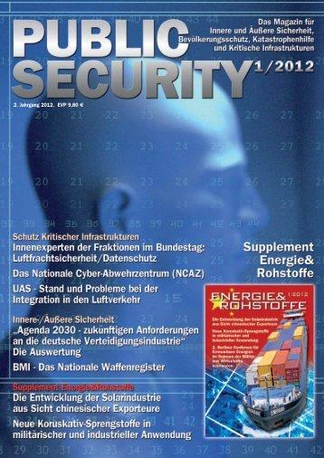 Jetzt die Webversion online anschauen! - Public Security