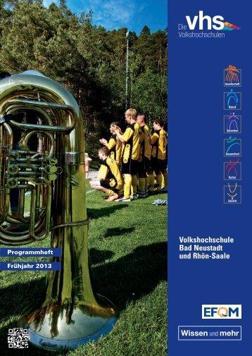 Volkshochschule Bad Neustadt und Rhön-Saale