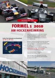 FORMEL 1 2010 - Späth Knoll