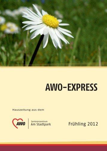 AWO-EXPRESS - AWO Seniorenzentrum am Stadtpark