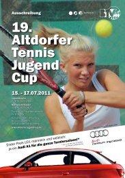 19. Altdorfer Tennis Jugend Cup