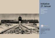 Informationsschrift - Initiative 27. Januar