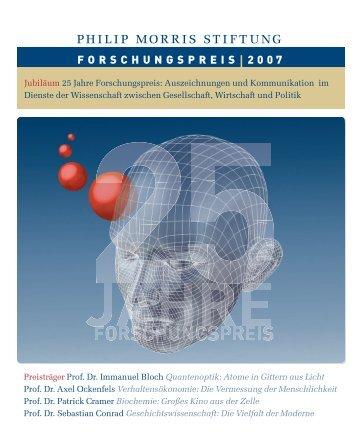 Forschungspreis-Magazin (pdf) - im Fachbereich Physik ...