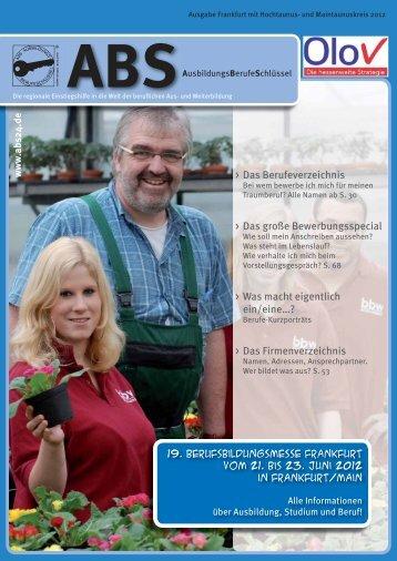 Das Firmenverzeichnis - Berufsbildungsmesse Rhein-Main in ...