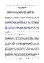 Interkulturelle Trainings für Fachkräfte in Sozialen Regeldiensten ...