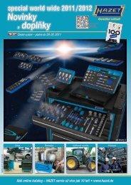 Nový katalog HAZET 2011-2012 - PD Technologie