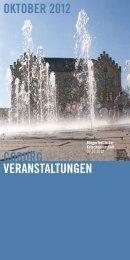 coburg veranstaltungen oktober 2012 - Stadt Coburg