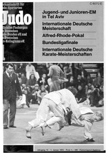 DJB-Magazin Nr. 1 - Chronik des deutschen Karateverbandes