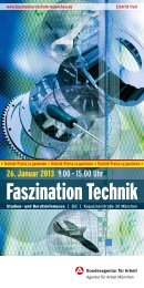 Flyer Faszination Technik