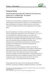 Presse – Information - KSV GmbH