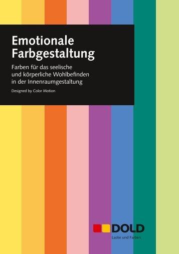 Flyer Emotionale Farbgestaltung - Dold AG