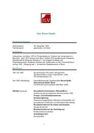 Vita: Bernd Späth - IL-Verlag