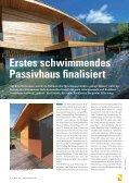 SCHWIMMENDES PASSIVHAUS - Bauweb - Seite 6