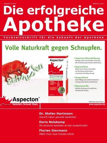Ausgabe 01.2013 - Die erfolgreiche Apotheke