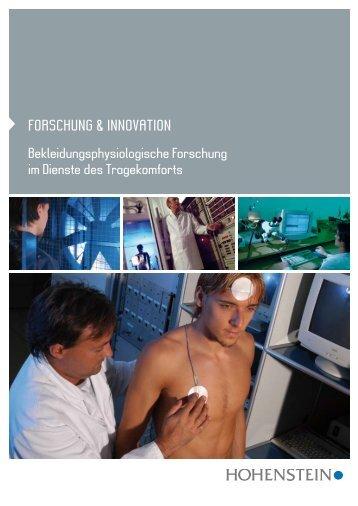 Bekleidungsphysiologische Forschung im Dienste des tragekomforts