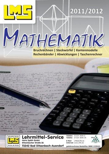 Diesen Katalog/Prospekt als PDF-Datei - Lehrmittel Service H.Späth ...