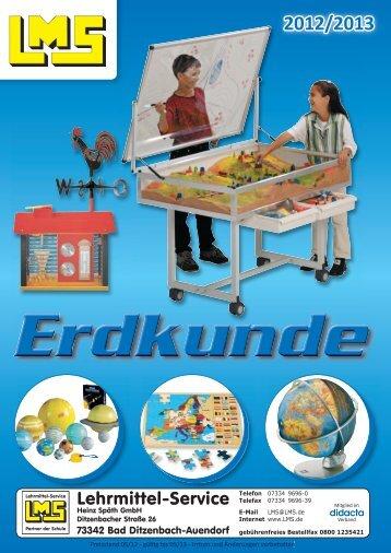 Diesen Katalog/Prospekt als PDF-Datei - Lehrmittel-Service H.Späth ...