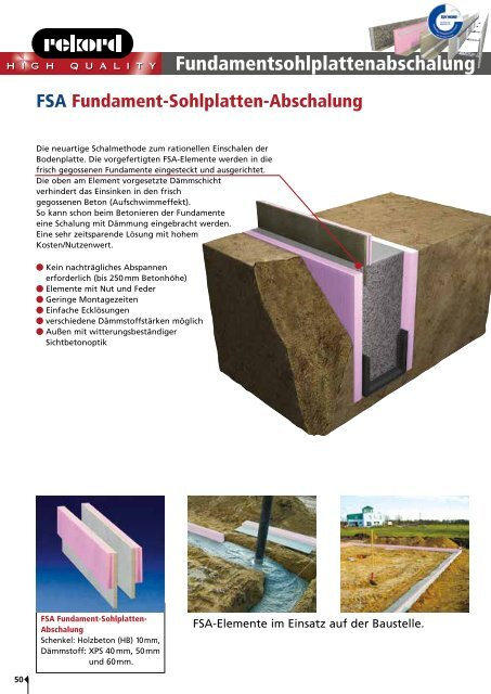 Lieferprogramm Preisliste 05.2012 - Rekord Holzmann