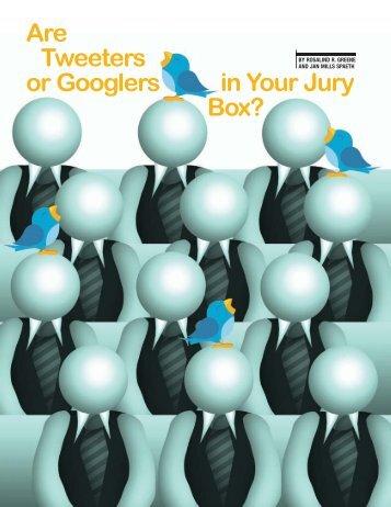 Arizona Attorney - February 2010 - Advanced Jury Research