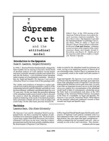 Supreme Court - Washington University in St. Louis