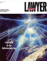 Fall 1991 – Issue 44 - Stanford Lawyer - Stanford University