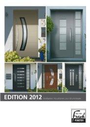 Türen Edition 2012 - Exclusive Haustüren aus ... - Frasch Fenster