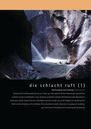 die schlucht ruft (1) - Bergundsteigen