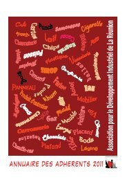 annuaire 2011 des adhérents de l'ADIR - Association pour le ...