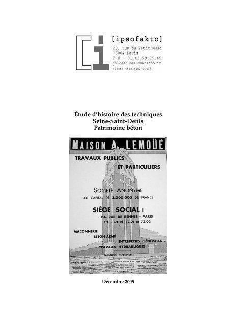 Documentation Technique Sur Le Bâtiment Atlas Du Patrimoine