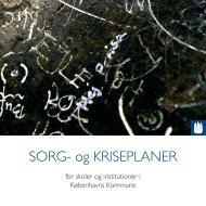 SORG- og KRISEPLANER - Københavns Kommune